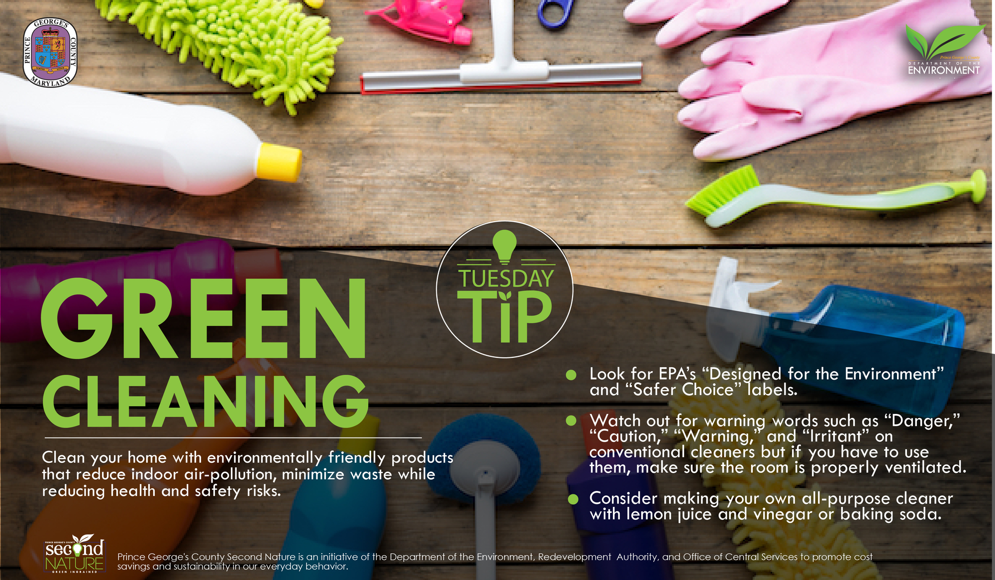 Tues Tip 3.12.19 green cleaning
