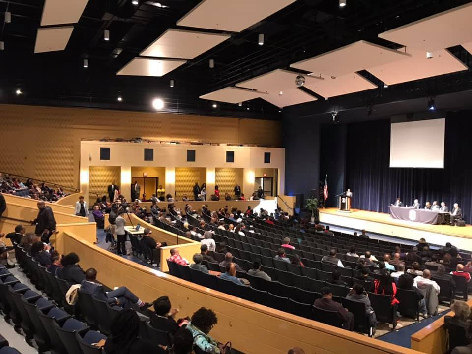 Attendees at the Public Hearing for Prince George's County Public School System CEO