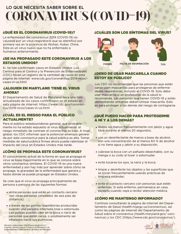 Fact Sheet Spanish