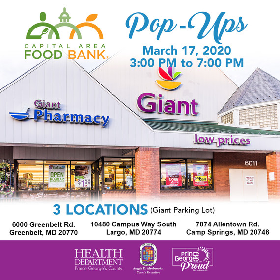Pop-Up Food Pantries