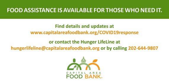Capital Area Food Bank Hotline