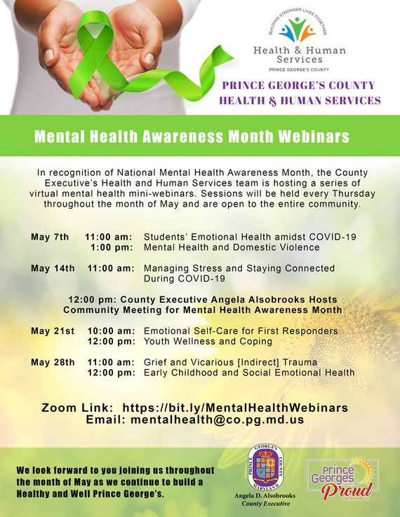 Mental Health Webinars