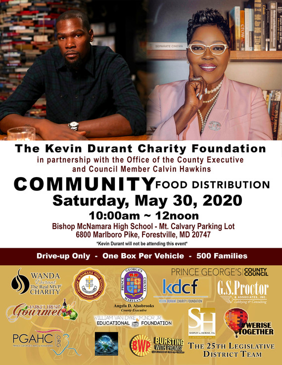 Kevin Durant Foundation Event
