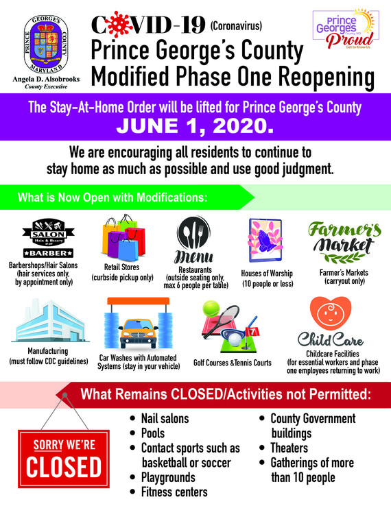 Modified Phase One Reopening