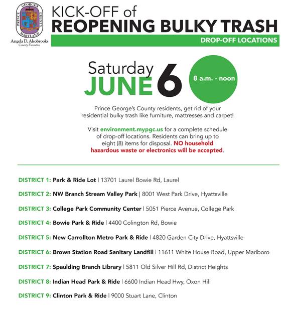 Bulk Trash Sites