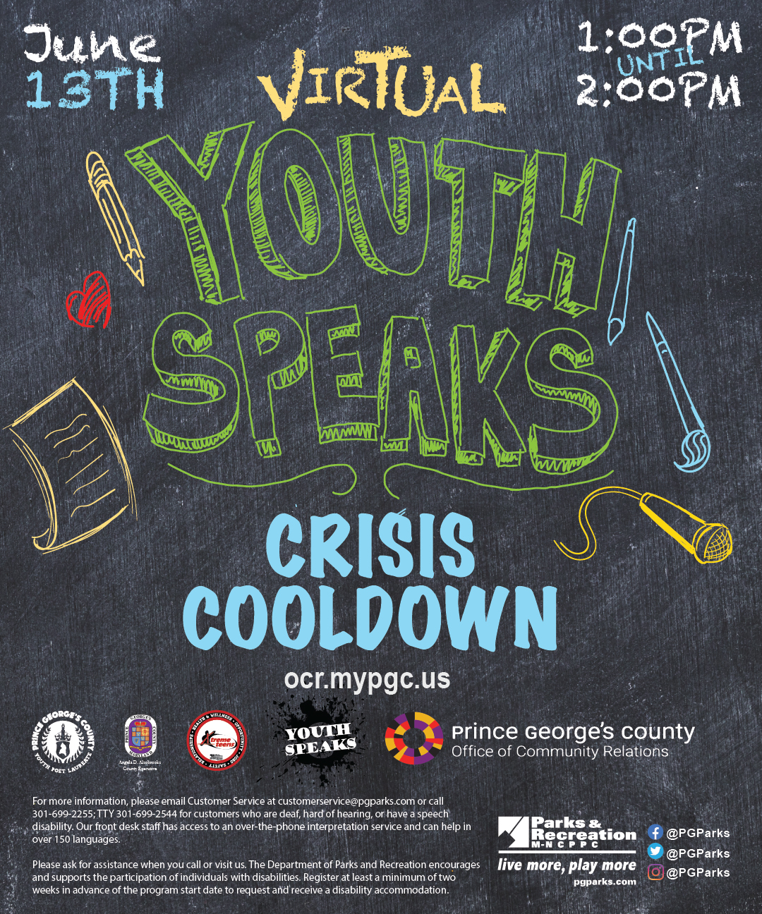Youth Speaks June 13