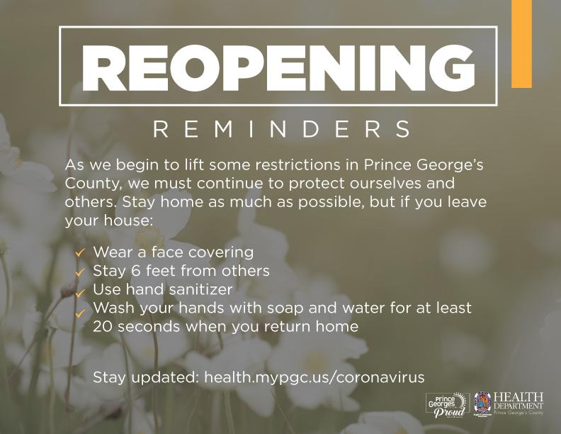 Reopening Reminders