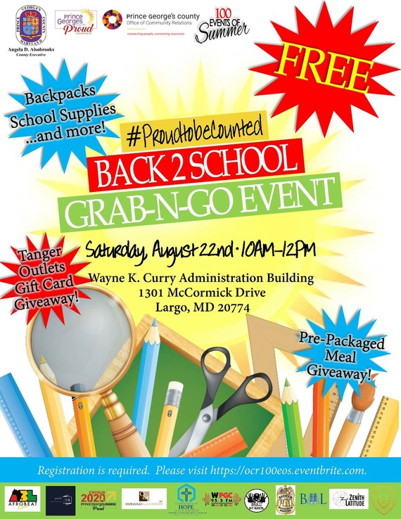 Back 2 School Event