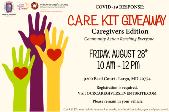Caregivers CARE Kits