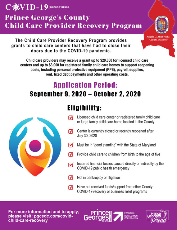 Child Care Provider Program
