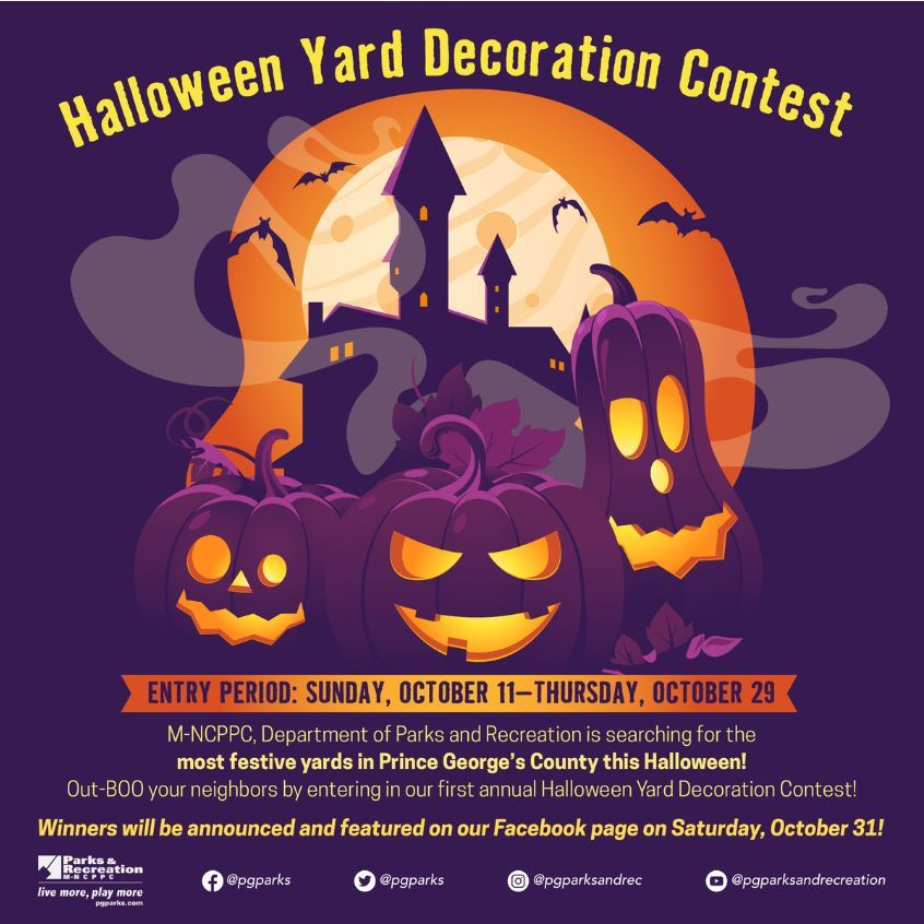 Halloween Yard Decoration Contest