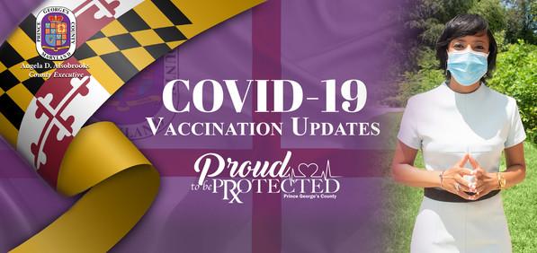 Vaccination Update Banner