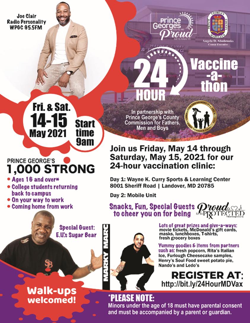 24 Hour Vaccine-a-thon