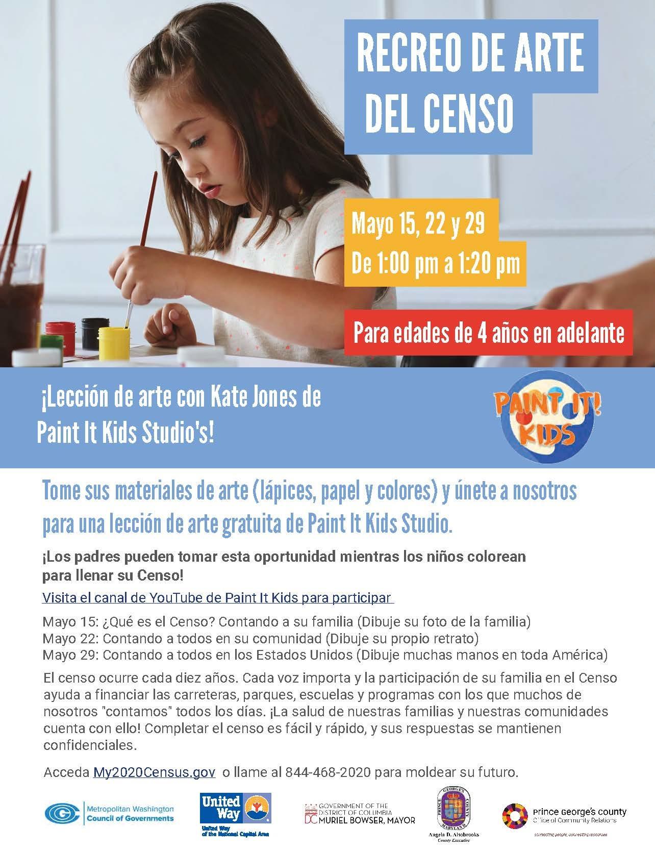 Census Art Break-Spanish