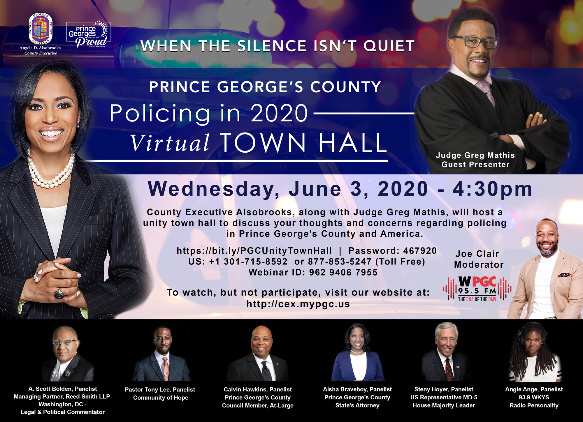 Policing Town Hall CEX6.3.2020
