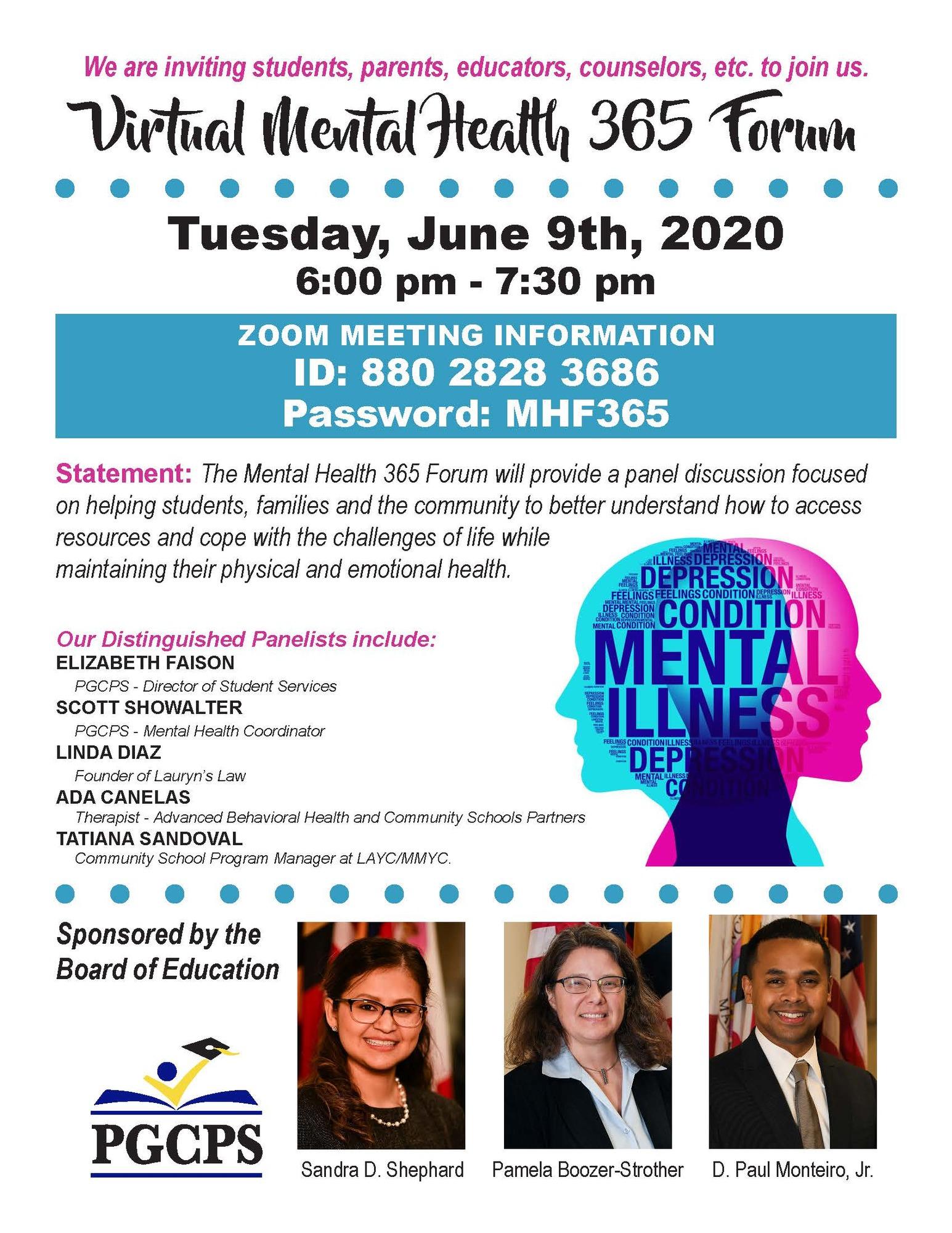 Mental Health 365 Forum6.4