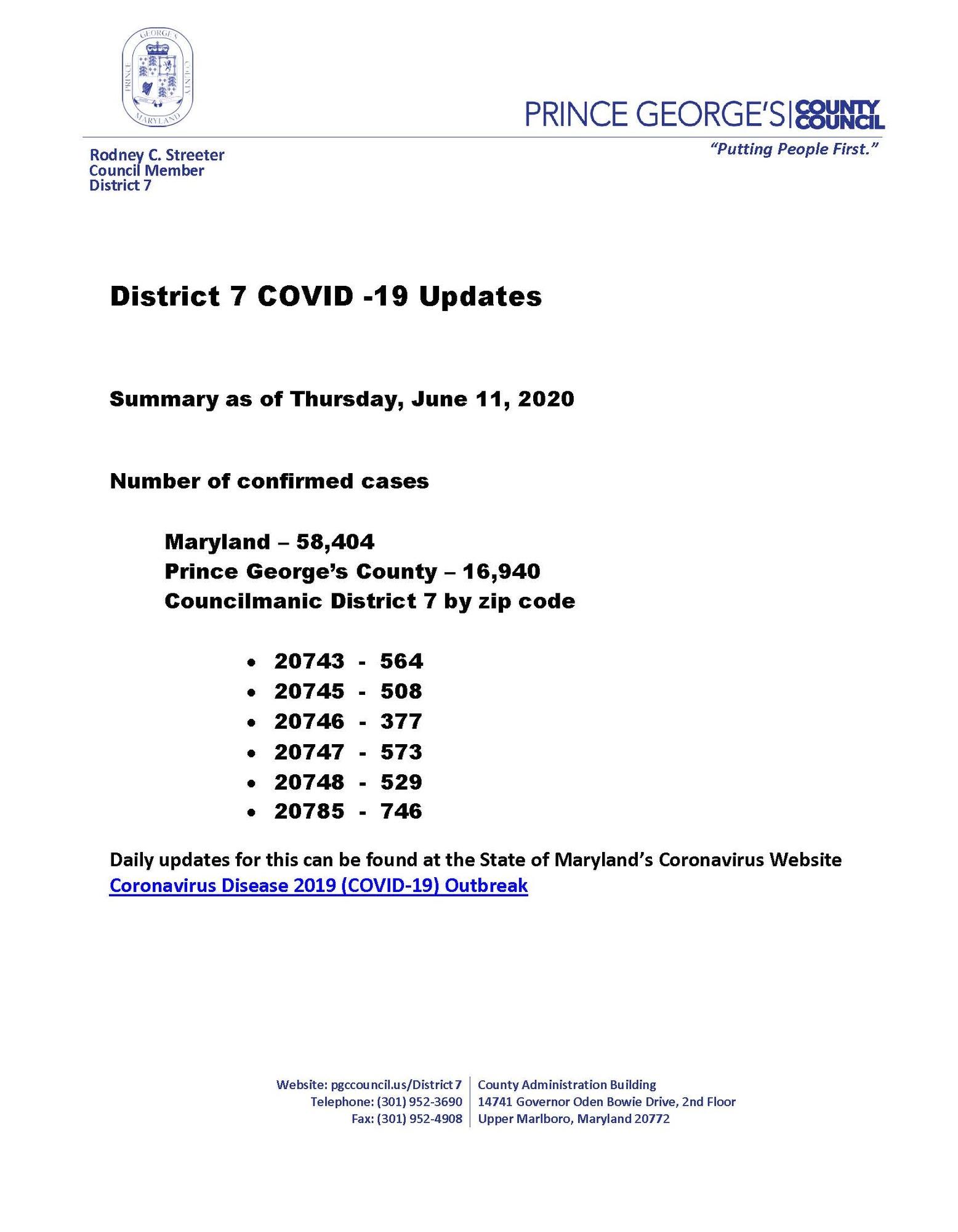 COVID Update6.11