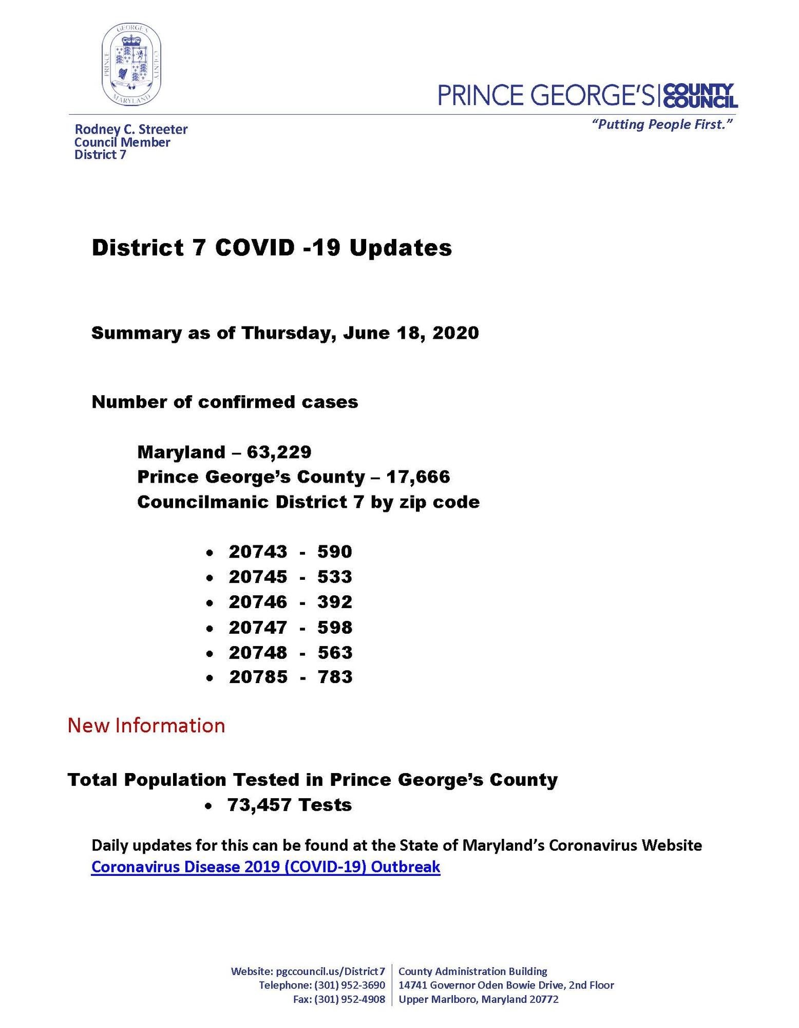 COVID Updates 6.18