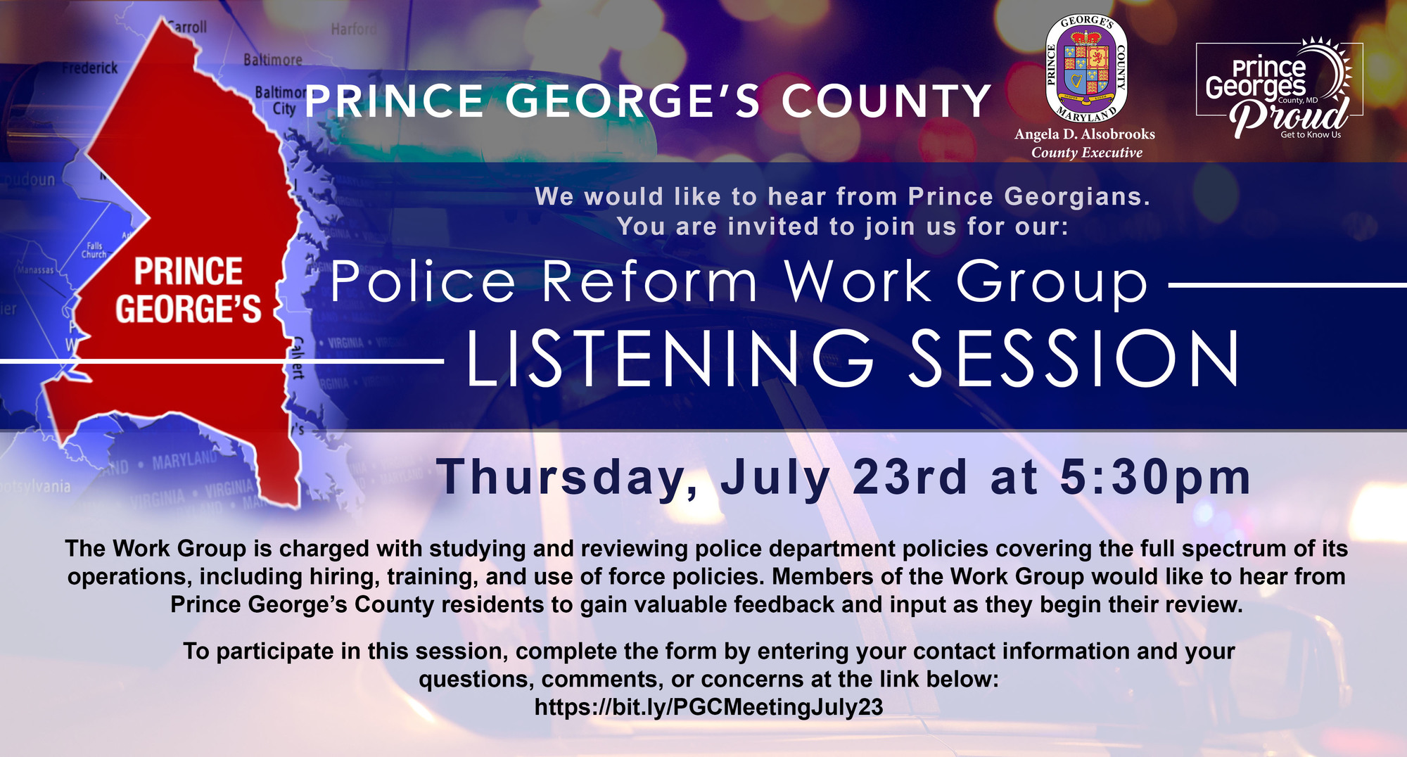Police Reform Workgroup7.23