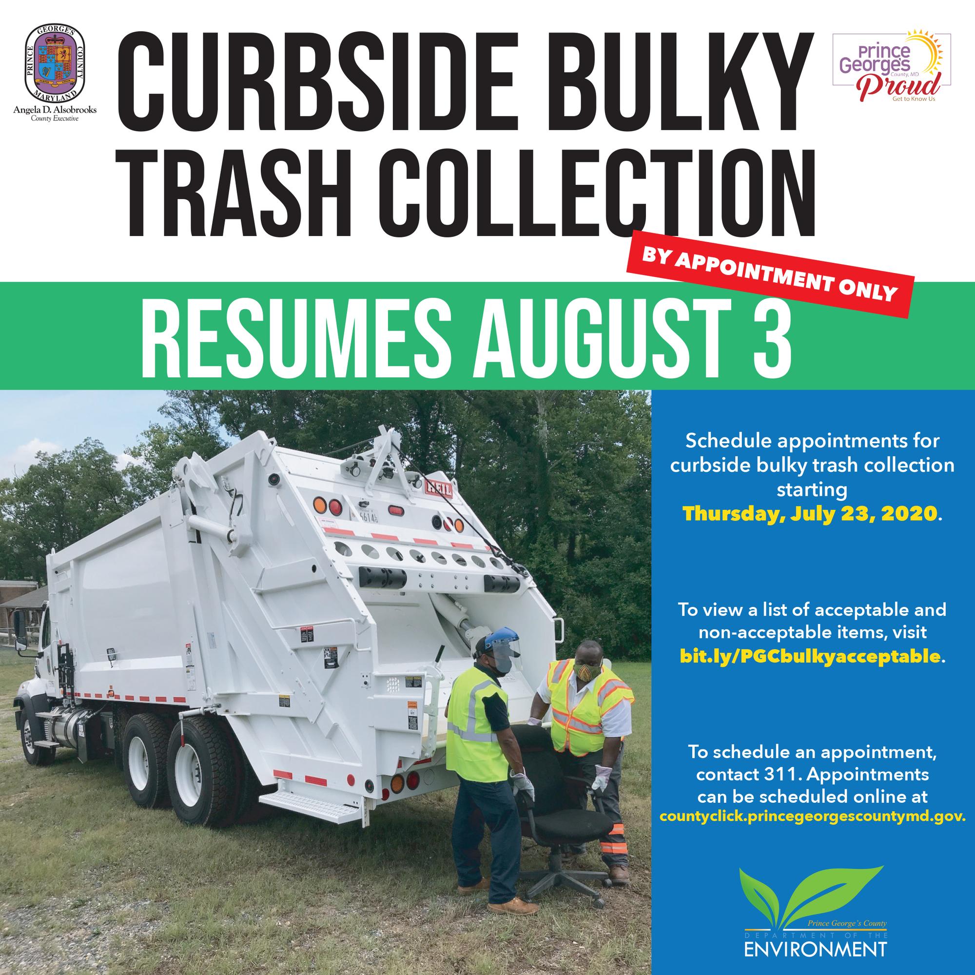 Bulky Trash Resumes 8.3