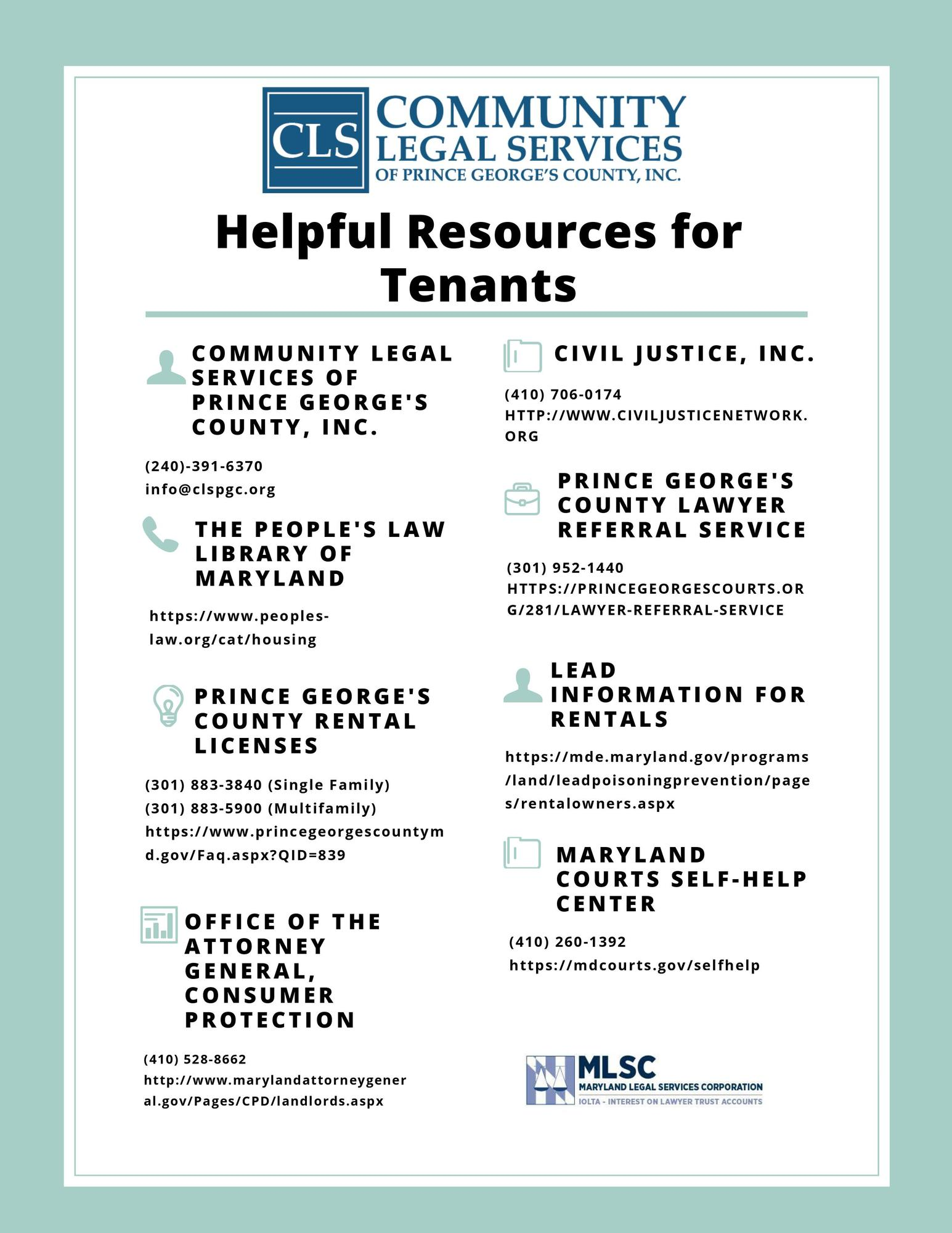 Renter Resources