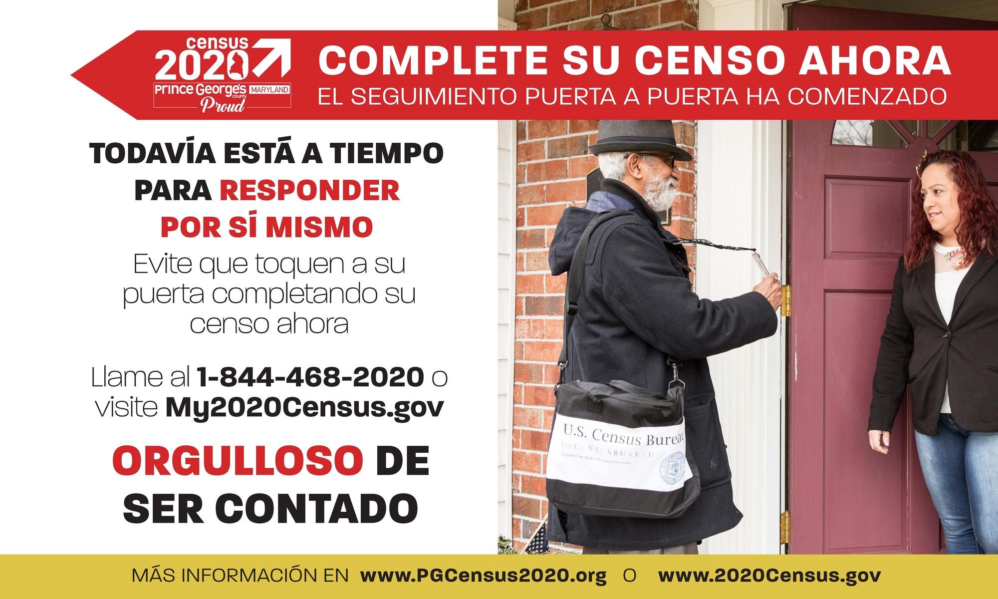 Census at Your Door.Spanish