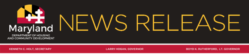 Maryland News Release logo