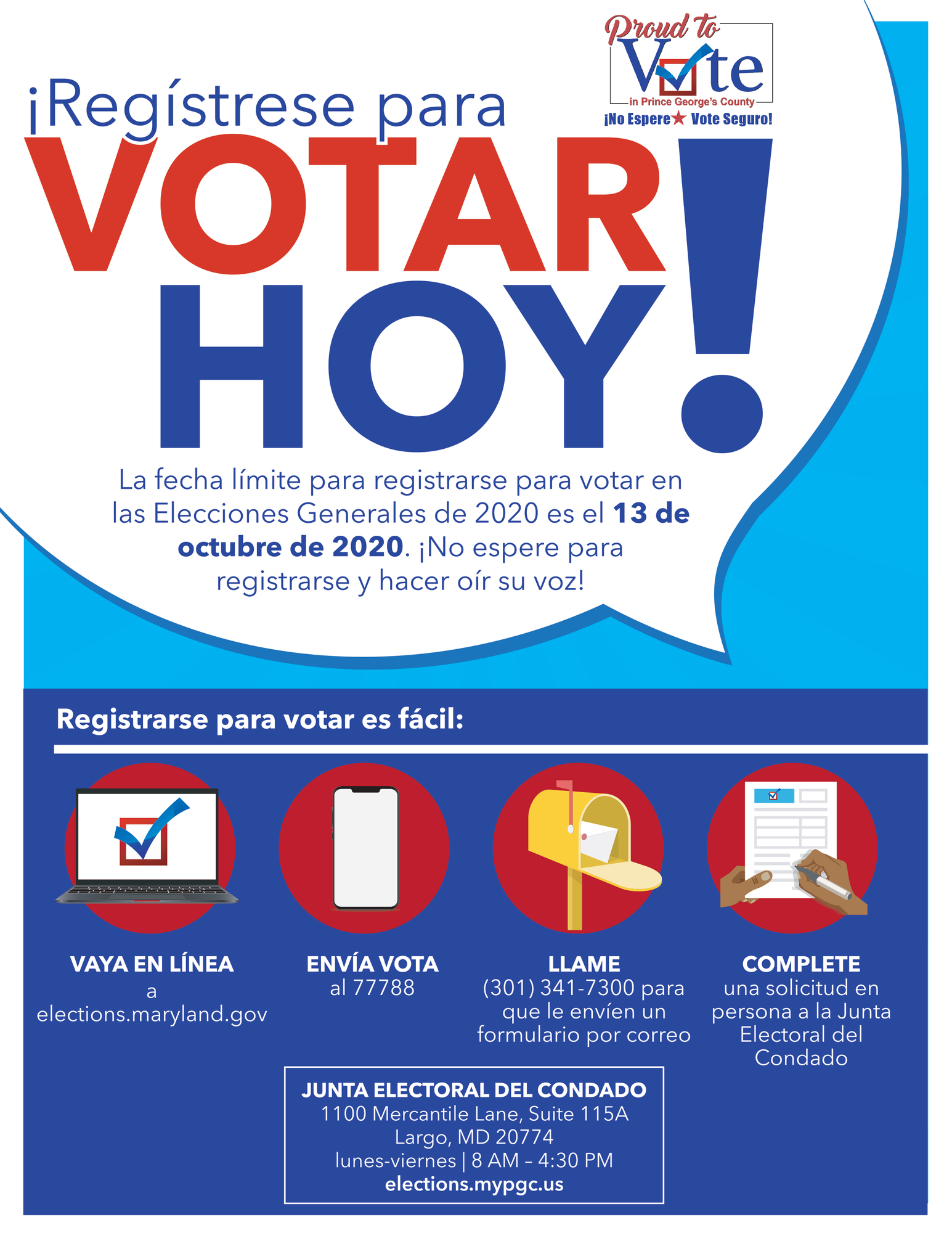 Register to VoteSpanish