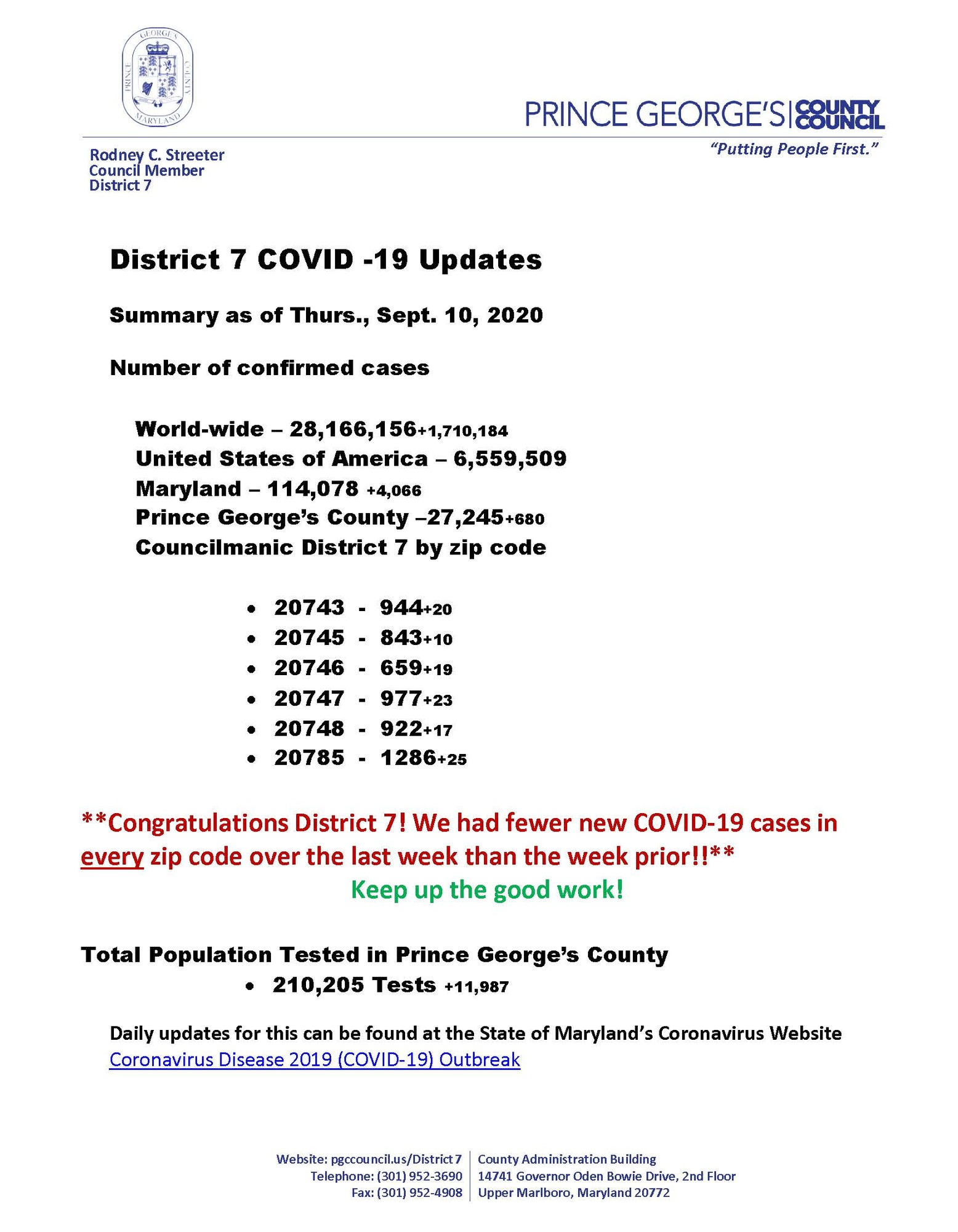 COVID Update9.10
