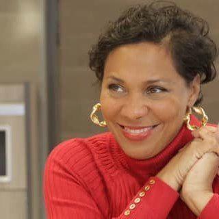 Monique in red
