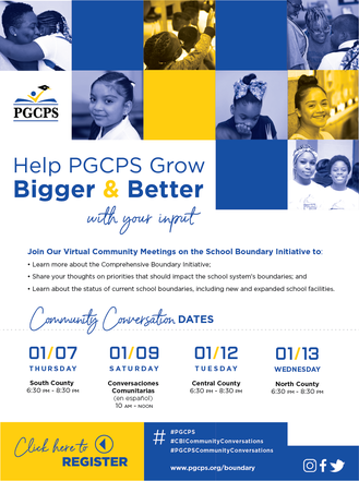 Upcoming Meetings PGCPS