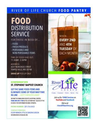 River of Life Food Distribution