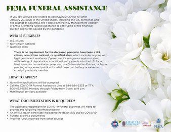 COVID Funeral expenses