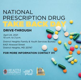 Prescription Drug Take Back 21