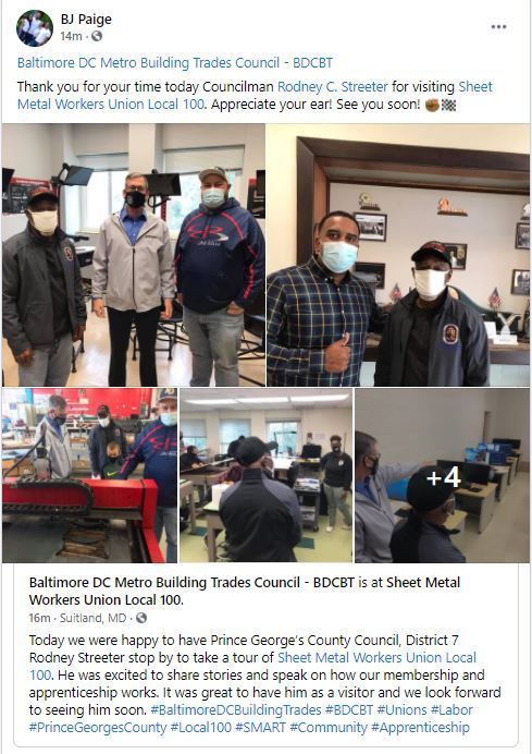 Tour of Metro Buildings Trade Training Facility