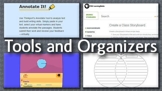 Tools and organizers