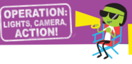 image lights, camera, action