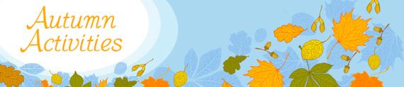 Autumn Activities Banner