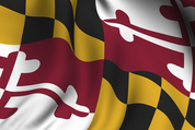 Maryland Flag Waiving