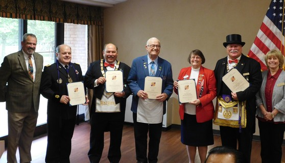 Photo Freemasons of Maryland Donation to Charlotte Hall Veterans Home