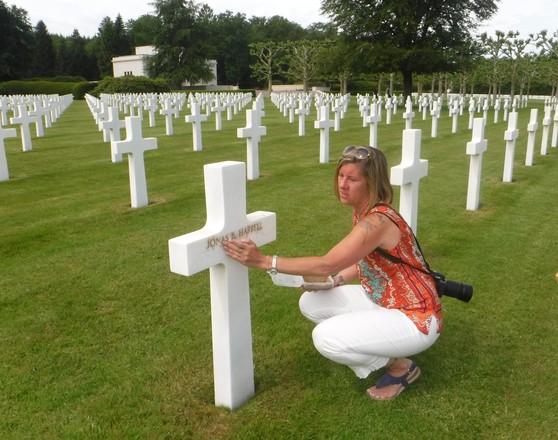 Dana Burl at Epinal Cemetery