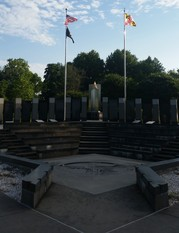 World War II memorial in Annapolis