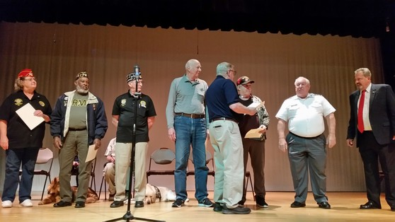 Calvert County Veteran Resource fair