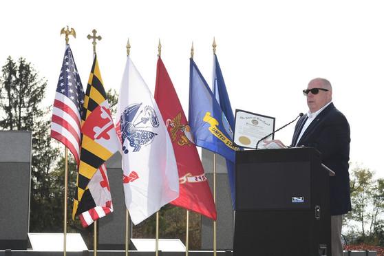 Governor Hogan WWII Memorial