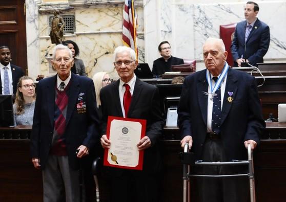 WWII Veterans Honored in Senate