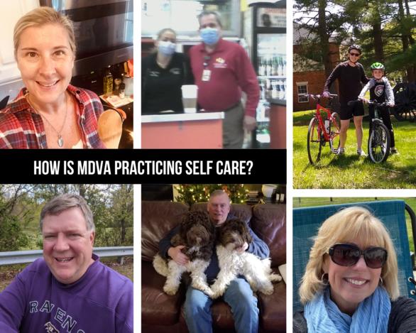 MDVA collage