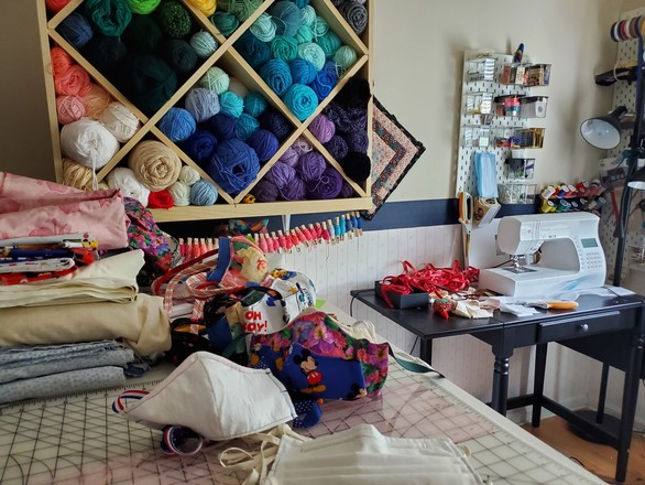 Katie's Sewing Room