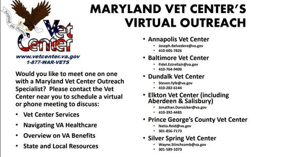 Maryland Vet Centers