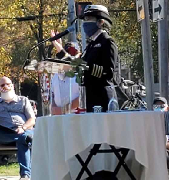 Dr. Macri at Linthicum Memorial