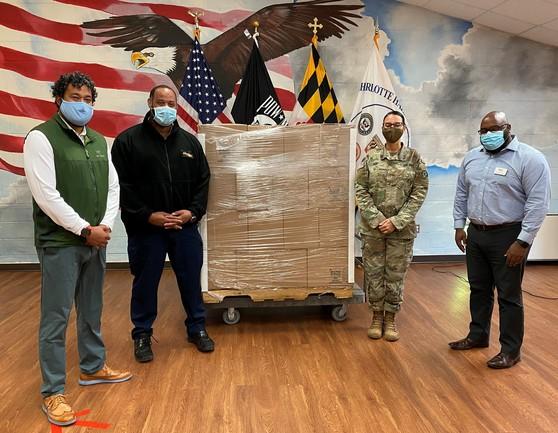 Maryland National Guard Donation